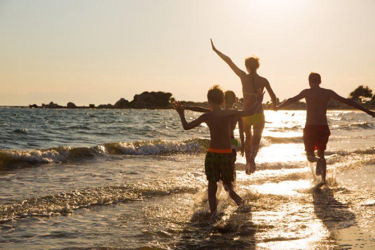 Prázdné pláže jsou jednou z výhod dovolené po hlavní sezóně