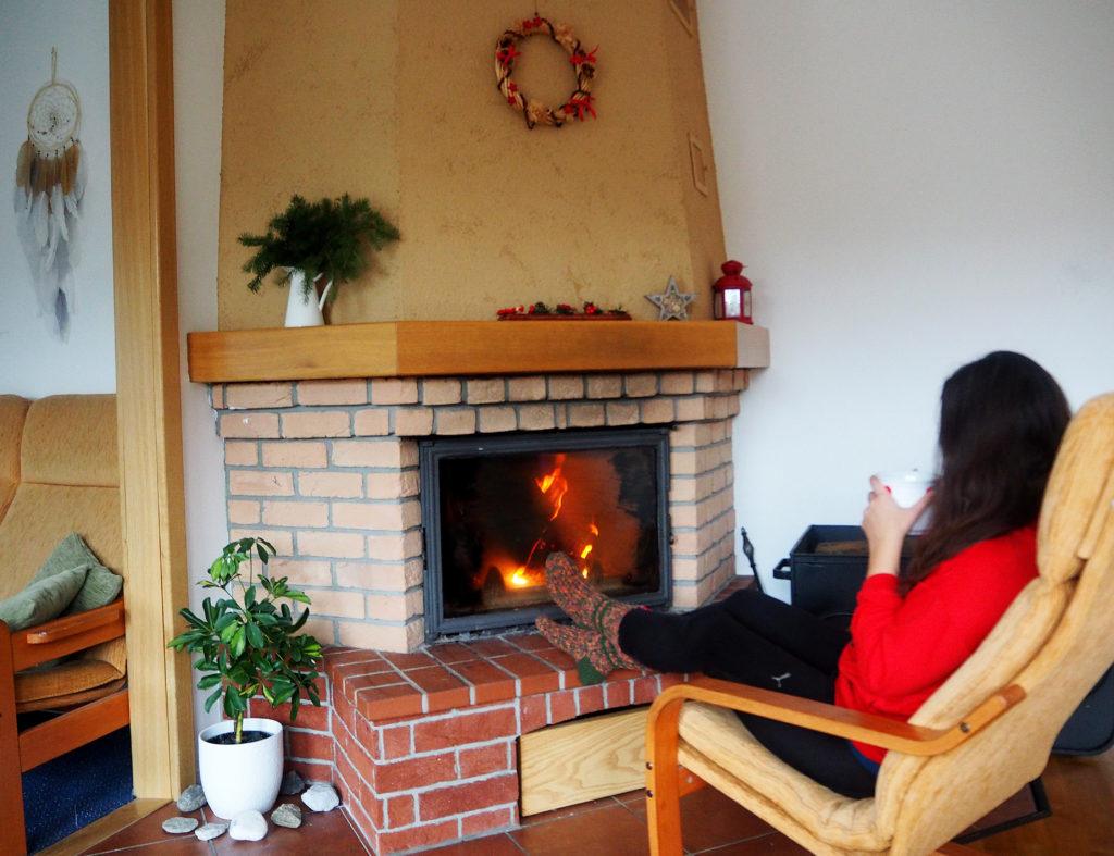vánoční výzdoba přírodní