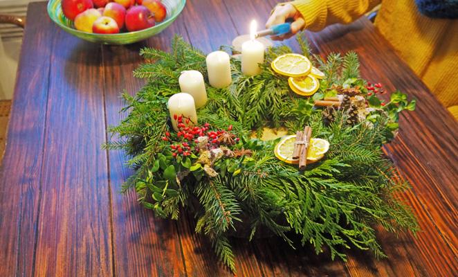 adventní,věnec,vánoční,výzdoba,význam,historie,tradice