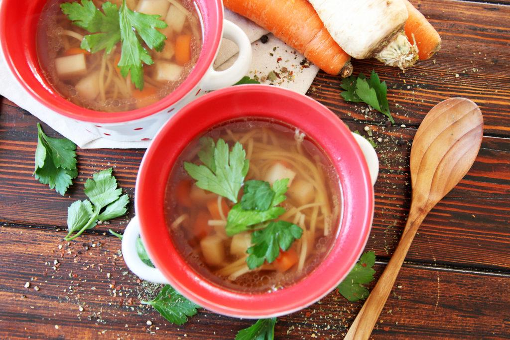 recept,domácí,zeleninový,vývar