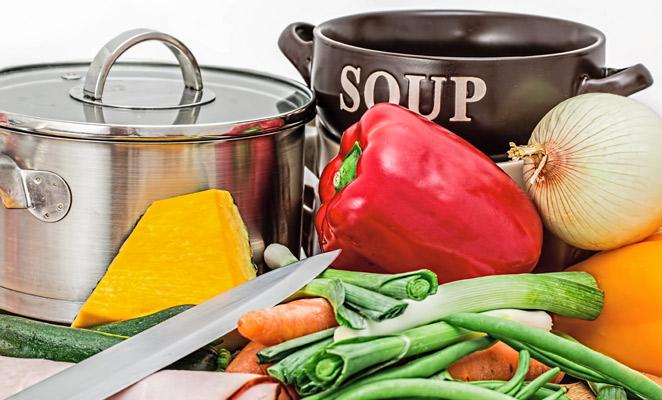 recepty,vývar,kuřecí,zeleninový,zimní,životabudič