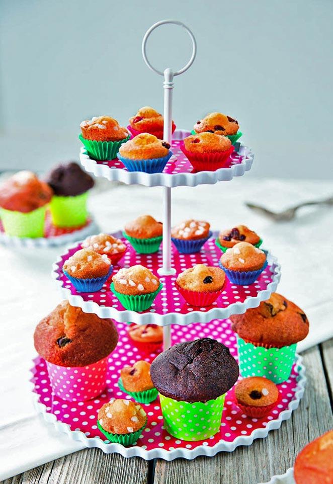 cupcakes,etažér,spojovací,pečení,dezert,tři patra